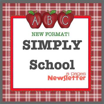 Pages - SIMPLY SCHOOL - Newsletter template - For iPads, i