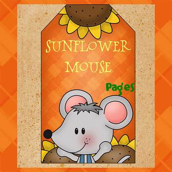 Pages - SUNFLOWER MOUSE - Newsletter template - For iPads,