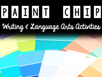 Paint Chip Projects & Activities - Language Arts & Writing
