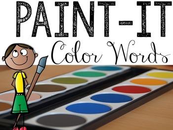 Paint-It: Colors