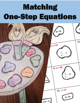 Matching One-Step Equations