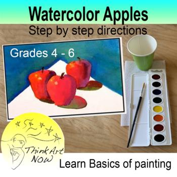 Paint Watercolor Apples