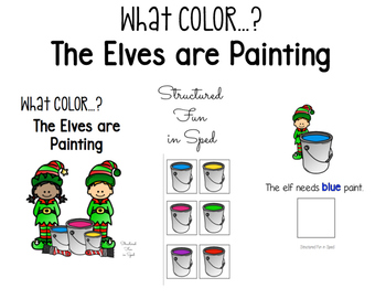 Painting Elves Color Adapted Book