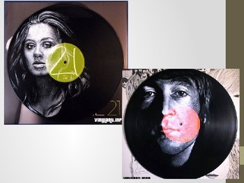 Painting Portraits on Records