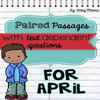 Paired Passage April