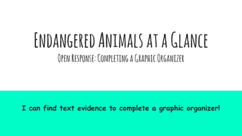 Paired Passage Essay Prep: Endangered Animals Session 4
