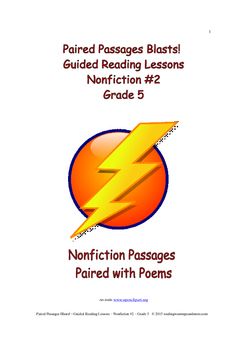 Paired Passages Blasts! Guided Reading Lessons - Nonfictio