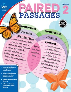 Paired Passages Grade 2 SALE 20% OFF 104887