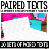 Paired Passages {Scaffolded and Differentiated Practice}