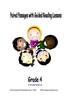 Paired Passages with Guided Reading Lessons - Grade 4