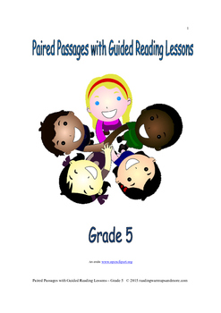 Paired Passages with Guided Reading Lessons - Grade 5