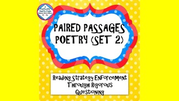 Reading Strategies/Close Reading Paired Passages:Poetry #2
