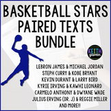 Paired Texts:  NBA Legends Bundle