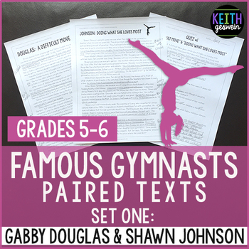 Gymnastics Paired Texts: Gabby Douglas and Shawn Johnson: