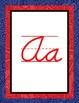 Paisley Print Cursive Alphabet Line