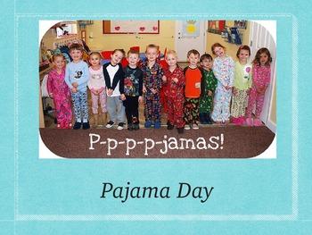 Pajama Day at School