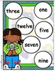 Pajama Party Number Words File Folder Games
