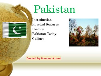 Geography:Pakistan's Physical Features( History, Culture a