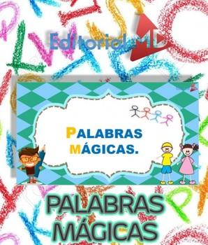 Palabras Mágicas Para Niños Para Imprimir