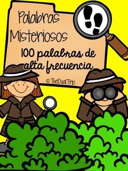 Palabras Misteriosos ( Mystery Sight Words) Spanish
