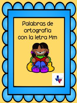 Palabras de ortografia con la letra M/ Spanish speliing wo