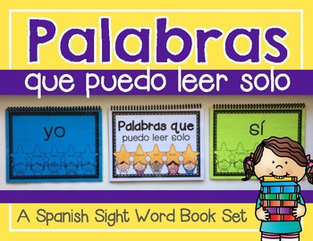 Palabras que Puedo Leer Solo--A Spanish Sight Word Book/Po