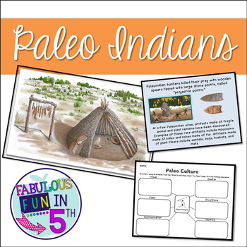 Paleo Indians PowerPoint and Mini-Unit