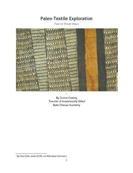 Paleo-Textile Lesson