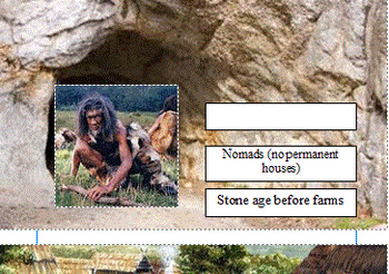 Paleolithic Age Vs. Neolithic Age Laminated Worksheet