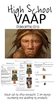 Paleolithic Era (Autism) VAAP HS-H 32 WHI.2 Assessment Hig