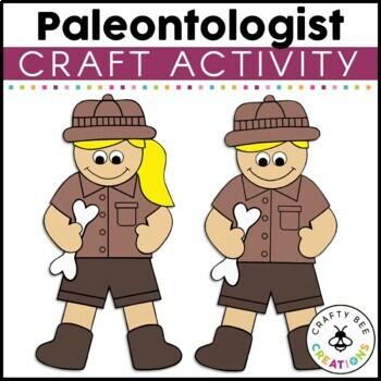 Paleontologist Cut and Paste