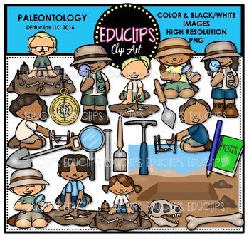 Paleontology Clip Art Bundle