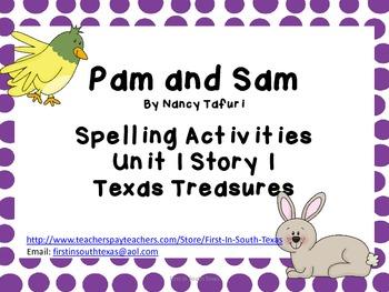Pam and Sam Texas Treasures First Grade