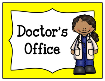 Pampered Patients Doctor's Office (Dramatic Play)
