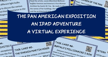 Pan American Exposition - QR Code Webquest - Task Cards -