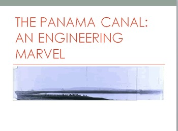 Panama Canal Partially Animated PowerPoint Presentation an