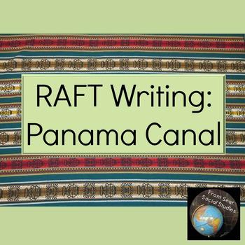 Panama Canal RAFT Writing