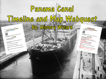 Panama Canal Webquest: Construction of the Panama Canal