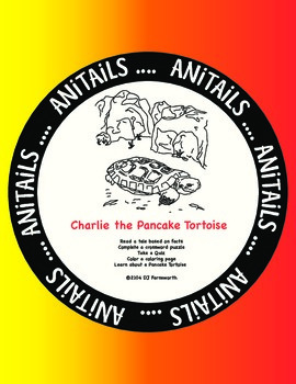 ANiTAiLS:Pancake Tortoise Story, Crossword, Coloring Page