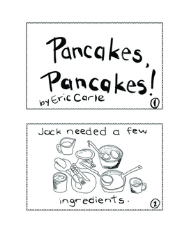 Pancakes, Pancakes! Student Sequencing Booklet