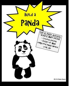 Panda Cutout and Paste
