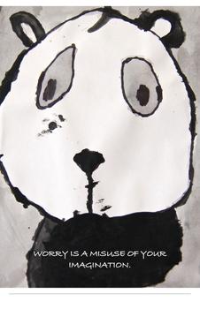 Panda Poster For Classrooms K-3