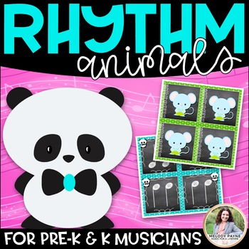 Panda Rhythms: 34 Pages of Rhythm & Animal Cards for Your