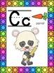 Panda Themed Alphabet Posters