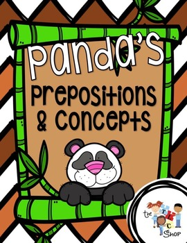 Panda's Prepositions and Concepts