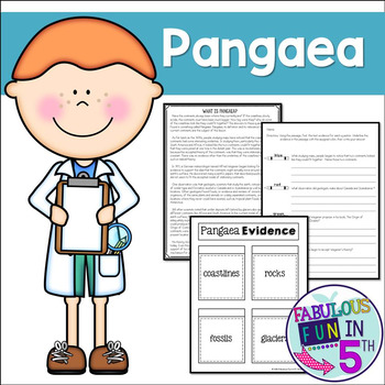 Pangaea: Nonfiction Passage and Foldable