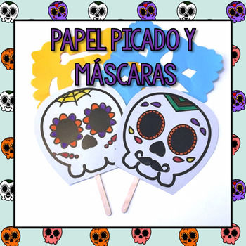 Papel Picado and Masks Templates