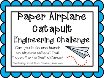 Paper Airplane Catapult: Engineering Challenge Project ~ G