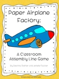 Paper Airplane Factory: An Assembly Line Game