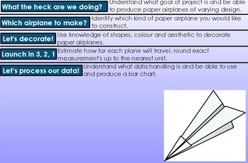 Paper Airplane Project: Rounding, Estimating and Data Processing